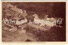 Alte Ansichtskarte Oppenweiler Klinik Wilhelmsheim bei Backnang Luftbild