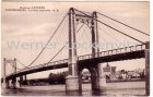 Ansichtskarte Bouchemaine Le Pont suspendu Environs d'Angers