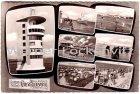 Ansichtskarte Cuxhaven Wattfahrt Leuchtturm Sahlenburg