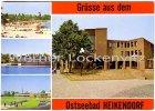 Ansichtskarte Heikendorf Rathaus Strand Schule