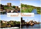 Ansichtskarte Kiel-Neumühlen-Dietrichsdorf Schwentine Fischereihafen