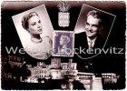 Ansichtskarte Monaco Fürst Rainier und Grace Kelly