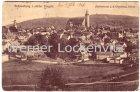 Ansichtskarte Schneeberg Erzgebirge Panorama mit Köhlerturm