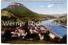 Alte Ansichtskarte Königstein Sächsische Schweiz Ortsansicht Panorama