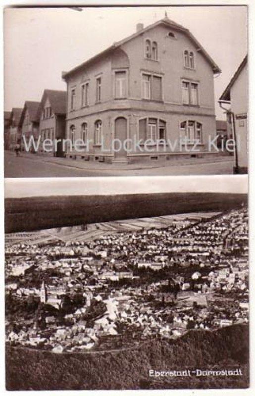 Ansichtskarte Darmstadt Eberstadt Ortsansicht Und Einzelhaus