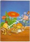 Ansichtskarte Comic Biene Maja mit Willi und Flip