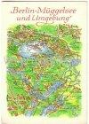 Ansichtskarte Berlin-Müggelsee und Umgebung Landkarte
