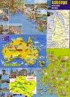 Ansichtskarten 15 x Landkarten meist Europa