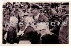 Ansichtskarte Adolf Hitler mit Jungmädels