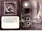 Prospekt Kamera Fotoapparat Rollei Rolleicord mit 12 Seiten