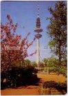 Ansichtskarte Hamburg Fernsehturm Werbestempel Norderstedt Musterhausausstellung