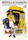 Ansichtskarte Hamburg Mophila 85 Werbekarte der Bundespost Briefmarkenausstellung