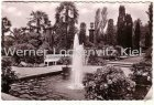 Ansichtskarte Bad Pyrmont Palmengarten mit Landpoststempel Wintermann an der Chaussee bei Soltau