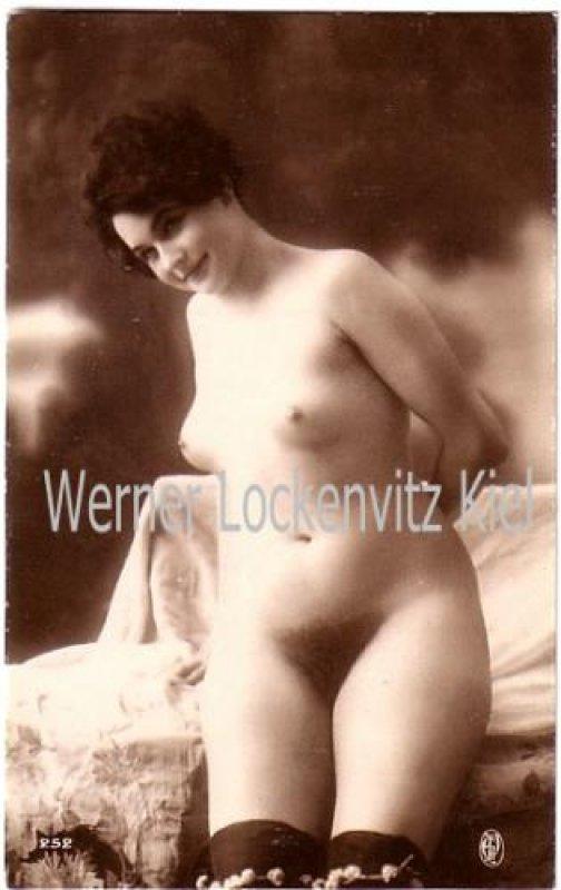 Ansichtskarte Nackte Frau Akt Erotik Kopie