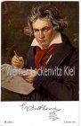 Ansichtskarte Beethoven beim Komponieren Porträt Musik