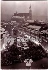 Ansichtskarte Schneeberg Erzgeb. zur Weihnachtszeit