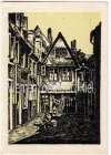 Ansichtskarte Bremen Altstadt zerstört durch Kriegseinwirkung von Schnoor