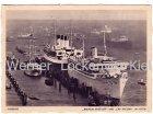 Ansichtskarte Hamburg Wilhelm Gustloff und Cap Arcona im Hafen
