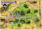 Ansichtskarte Der Sachsenwald Landkarte Aumühle Bismarck