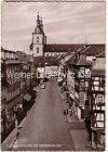 Ansichtskarte Fulda Marktstraße mit Stadtpfarrkirche