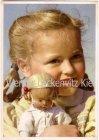 Ansichtskarte Mädchen mit ihrer Puppe Verlag Carl Werner Reichenbach Vogtland