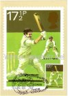 Maximumkarte UK Sport Cricket Centenary Test