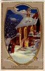 Ansichtskarte Ein Glückliches Neues Jahr goldumrandet