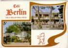 Ansichtskarte Postal Spanien España Baleares Mallorca Cala Millor Cafe Berlin