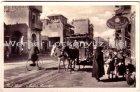Ansichtskarte Aegypten جمهوريّة مصرالعربيّة Port Said Native Quarters mit Pferde-Mulibahn