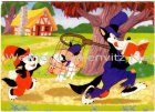 Ansichtskarte der grosse böse Wolf Walt Disney Productions Comic