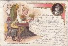 Ansichtskarte Fritz Reuter Postkarten Stromtid Fritz Triddelfitz