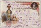 Ansichtskarte Fritz Reuter Postkarten Stromtid Rekter Baldrian
