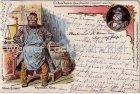 Ansichtskarte Fritz Reuter Postkarten Stromtid Kopmann Kurz