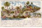Ansichtskarte Berlin Gewerbe-Ausstellung Colonial Ausstellung 1896 mit Sonderstempel