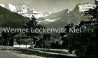 Ansichtskarte Schweiz Aeschi bei Spiez Landschaft mit Blümlisalp Bern