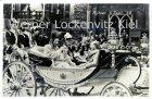 Ansichtskarte Niederlande Amsterdam Königliche Familie macht eine Kutschfahrt