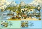 Australien First Fleet Cape of Good Hope 3 Maximumkarten Maximum cards PHQ card