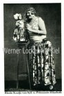 Ansichtskarte Riesin Kaatje van Syk und Prinzezssin Elisabeth Liliputanerin Siebold&Herhaus Oberneuland Bz. Bremen