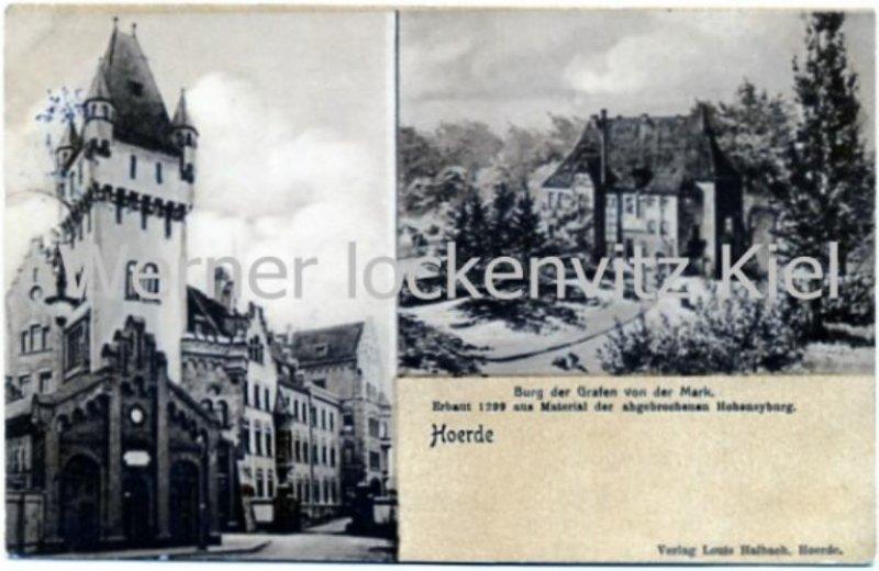 Ansichtskarte Dortmund-Hörde Burg der Grafen von der Mark