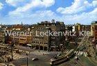 Ansichtskarte Hannover Kröpcke mit Straßenbahn und Messegelände 2 Karten