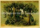 Ansichtskarte Der Kugelschuss ins Treiben Jagd sign. Geilfus