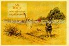 Ansichtskarte 300 Meter können Streuschrote Jagd sign. Geilfus