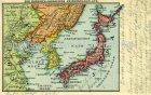 Ansichtskarte Der Russisch-Japanische Kriegsschauplatz map