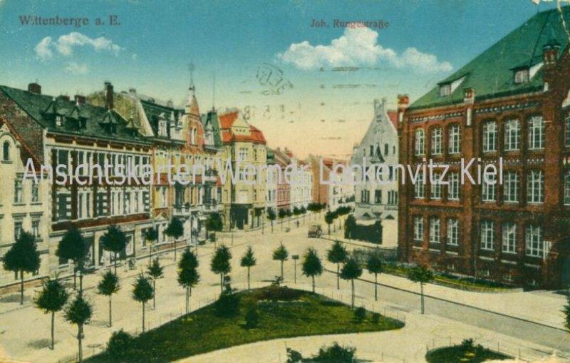 Ansichtskarte Wittenberge Joh. Rungestraße