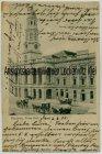 Ansichtskarte Australien Adelaide S.A. Town Hall mit Marineschiffspost Nr. 8
