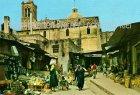 Ansichtskarte Israel Nazareth Market Street