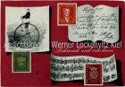 Ansichtskarte Deutsche Bundespost Briefmarken lehrreich und erholsam Einrad Goethe Bachsiegel