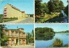 Ansichtskarte Erkner Neubauten Rathaus Löcknitzidyll