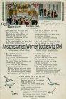Ansichtskarte Borkum Lied Judaika Antijüdisch