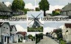 Ansichtskarte Barsbek Mühle Geschäft Edeka von Karl Meyer Ortsansichten Dorfstrassen